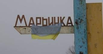 Боевики во второй раз обстреляли жилой сектор Марьинки