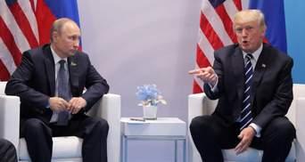 Путіну було б легше з Клінтон, – Трамп про зустріч із президентом Росії