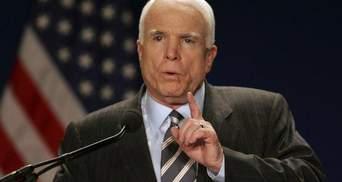"""Маккейн розповів, хто насправді стоїть за заявою Захарченка про """"Малоросію"""""""