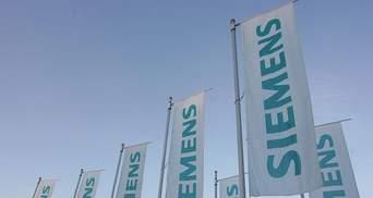 Карикатурист остроумно изобразил скандал вокруг Siemens и Крыма