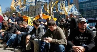 Националисты решили объединиться, чтобы блокировать российские компании в Украине