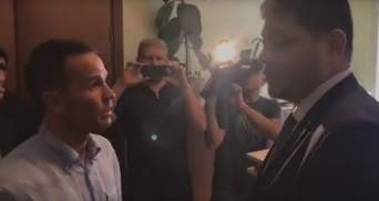 Миграционная служба не хочет показывать письмо Луценко, по которому у Саакашвили забрали гражданство