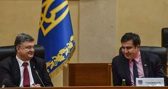 Противостояние Порошенко – Саакашвили: борьба за правду или за политический Олимп