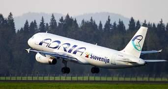 Польоти в Україну відновить словенська авіакомпанія