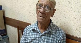 Жалею, что не был рядом с вами, – Чийгоз обратился к задержанному 76-летнему крымскому татарину
