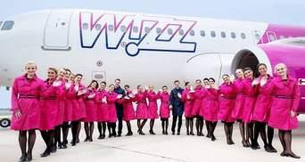 Wizz Air запускает пять новых рейсов из Украины в Европу