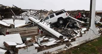 Збільшилась кількість жертв від потужного урагану в США