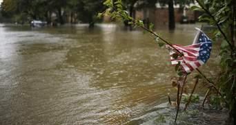 Charlie Hebdo опубликовал язвительную карикатуру на мощный потоп из-за урагана Харви