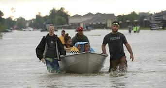 Стало відомо, чи постраждали українці від урагану Харві у США
