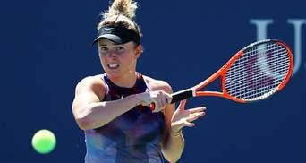 Украинка Свитолина обыграла российскую теннисистку и вышла в третий круг US Open