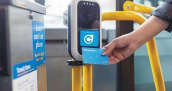 В одном городе Украины ввели безналичную оплату за проезд