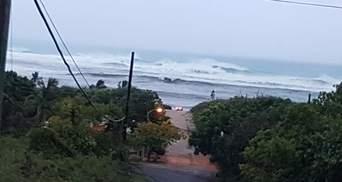 Сокрушительный ураган Ирма добрался первых населенных пунктов: фото, видео