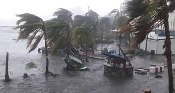"""Нищівний ураган """"Ірма"""": Макрон зробив тривожний прогноз щодо жертв"""