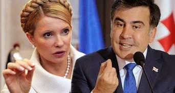 Друге пришестя Саакашвілі: як використають його повернення Тимошенко та інші