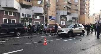 З'явилося відео смертельного вибуху авто на Бесарабці у Києві (18+)