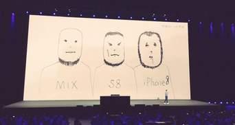 Xiaomi іронічно висміяла iPhone 8: відео і фото