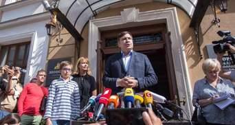 Саакашвили прокомментировал визит правоохранителей в гостиницу и рассказал о планах