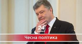 Як Порошенко підриває імідж України в світі