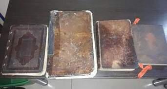 4 старовинні книги та набої до малокаліберної зброї знайшли прикордонники в зоні АТО
