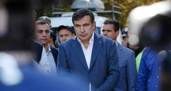 Саакашвілі просить в Україні політичного притулку