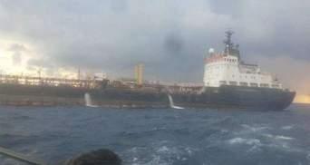 Танкер из Крыма обстреляли и затопили возле Ливии из-за контрабанды: видео
