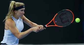 Элина Свитолина снялась с престижного турнира из-за травмы