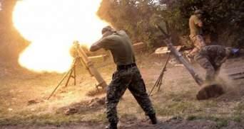 Обстрелами из минометов боевики ранили женщину на Донбассе