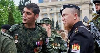 """Бойовики показали, які надгробки поставили """"Гіві"""" і """"Моторолі"""" у Донецьку"""
