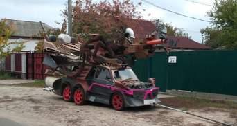 В Україні створено автомобіль-чудовисько: фотофакт