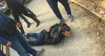 Полиция опубликовала видео, как задерживали похитителей ребенка в Киеве