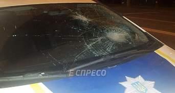 У Києві правоохоронці збили людину: з'явились фото