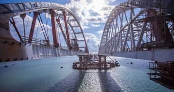 """Более 50% работ выполнено, –  в России отчитались о строительстве """"Керченского моста"""""""