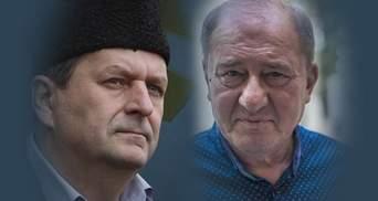 Как встретили российских пленников Умерова и Чийгоза