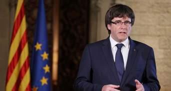 Испания угрожает лидеру Каталонии тюрьмой