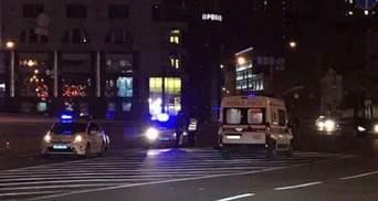 Поліція, поспішаючи на виклик, влаштувала аварію у Києві