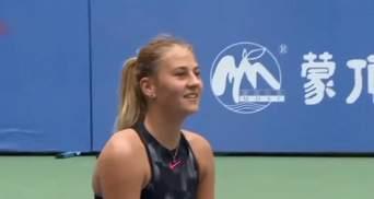 Теннисистка Марта Костюк стала лучшей юниоркой в 2017 году