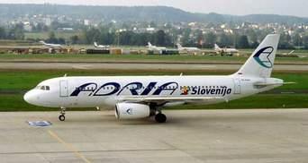 В Україну повернулася словенська авіакомпанія