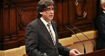 СМИ сообщили, что лидер Каталонии бежал в Брюссель
