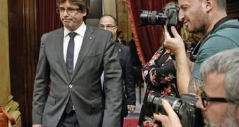 Конституционный суд Испании отменил независимость Каталонии