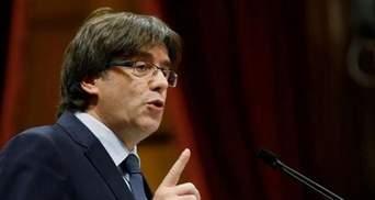 Отстраненный Президент Каталонии обратился с просьбой к Европейскому Союзу