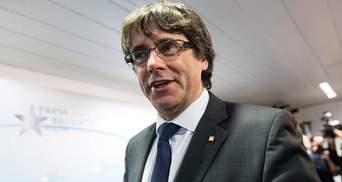 Лидер Каталонии Пучдемон и его министры сдались полиции Бельгии
