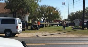 Чоловік скоїв масовий розстріл людей у церкві в Техасі: мінімум 27 осіб загинули