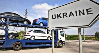 """Водителей авто на """"евробляхах"""" на Закарпатье ждет сюрприз"""