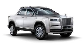 Якими можуть бути пікапи від Rolls-Royce та BMW