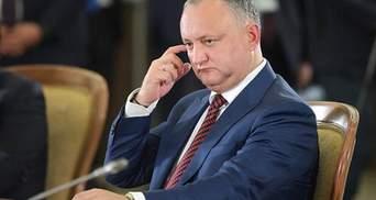 Президент Молдовы Додон предположил, что Приднестровье может войти в состав Украины