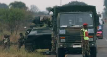 Волнения в Африке: армия Зимбабве захватила государственную телерадиокомпанию