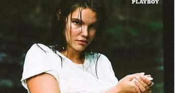 Пышнотелая модель снялась в сексуальной фотосессии для Playboy (18+)