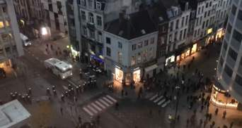 Бельгійська поліція затримала понад 30 учасників масових заворушень у Брюсселі