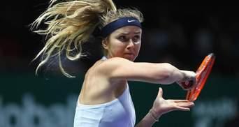 Теннис: Матч с участием Свитолиной признали лучшим поединком года