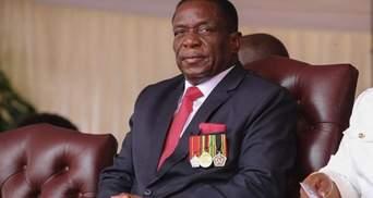 В Зимбабве новый президент